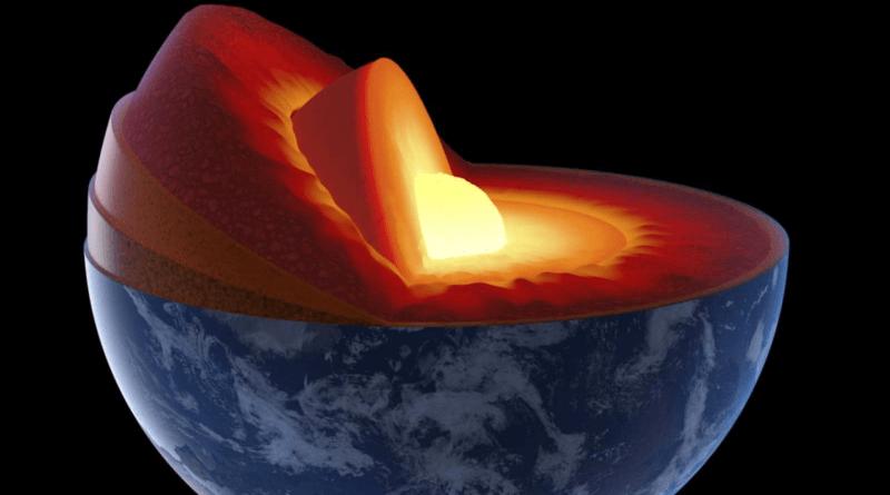 nucleo interno tierra