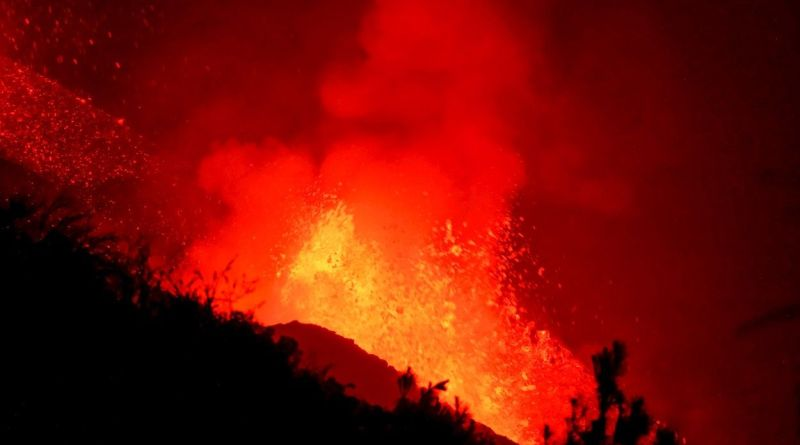 LA PALMA volcan