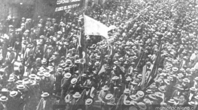 21 de diciembre de 1907. La Masacre de Santa María