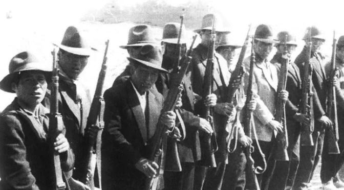 Guillermo Lora: Política militar del proletariado