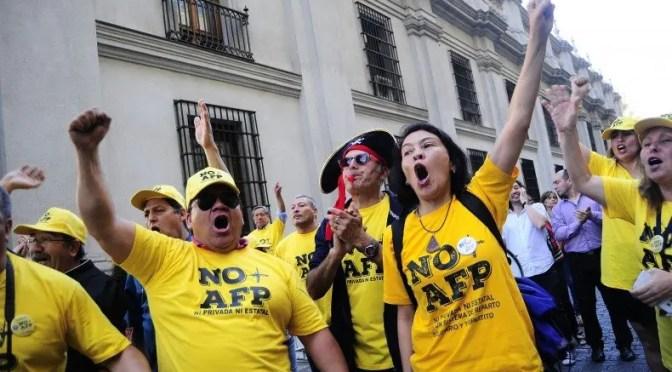 """""""No + AFP"""": Proyecto del Gobierno deja intacto el sistema de pensiones"""