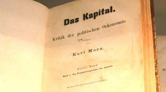 Karl Marx: Prólogo a la primera edición alemana de El Capital