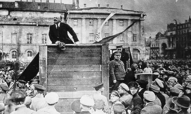 La era de la Revolución Rusa