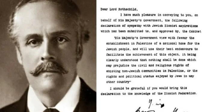 Centenario de la Declaración Balfour: un siglo de desposesión y de resistencia en Palestina