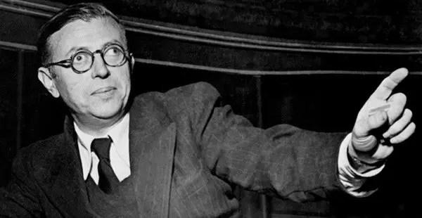 """Gilles Deleuze: """"Sartre fue mi maestro""""."""