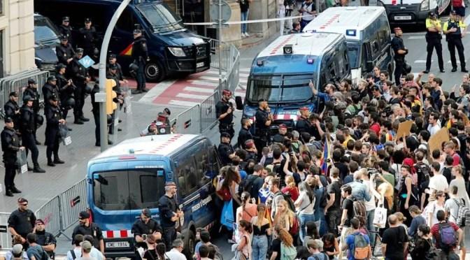 España: la clase obrera catalana y española deben salir al combate