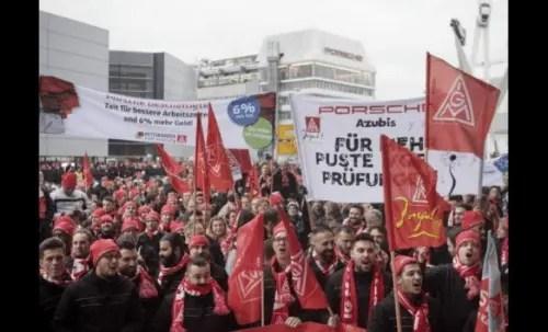 Alemania: hacia una huelga indefinida en la industria