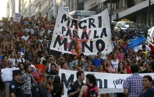 Argentina a 42 años del Golpe: Unidad de los trabajadores contra Macri