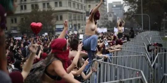 Las masivas movilizaciones de mujeres