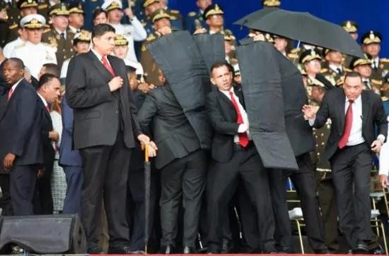 Venezuela: fracasa atentado terrorista en contra del Presidente Maduro
