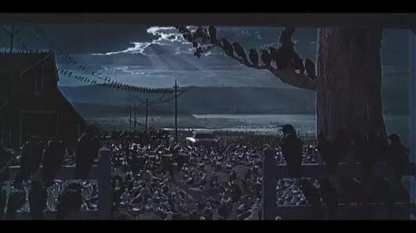 """""""Los pájaros"""": Alfred Hitchcock y una lección de ecología"""