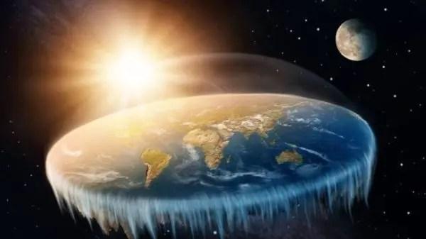 El mito de la tierra plana