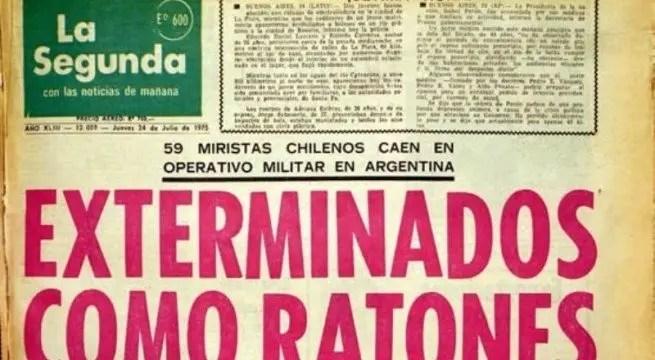 Documental: los montajes de la Dictadura (la propaganda nazi de Pinochet)