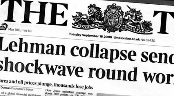 Diez años después de Lehman: una nueva crisis financiera en camino
