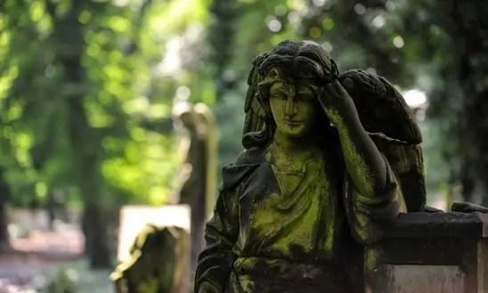 Cuento: un ángel con alas de pasta base