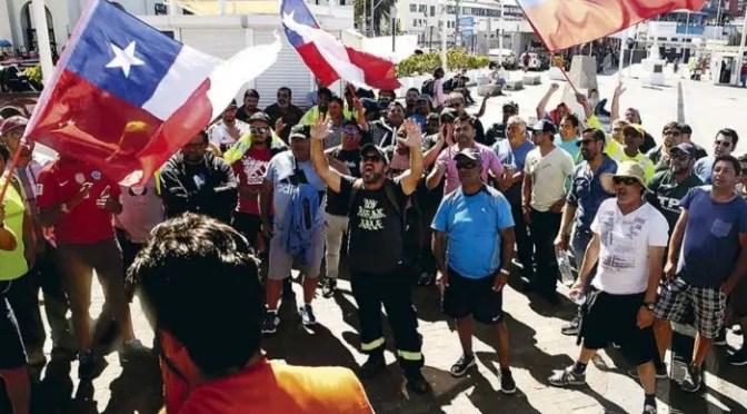 Intentan secuestrar a trabajador portuario en Valparaíso: Piñera es responsable