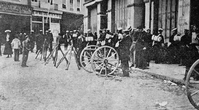 La masacre de la huelga portuaria de Valparaíso en 1903