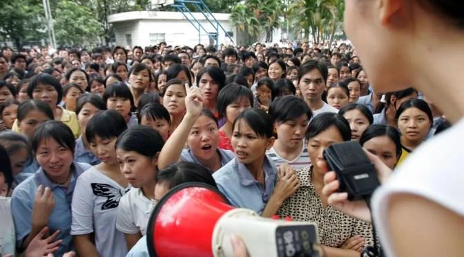 China: La lucha obrera de Jasic y el movimiento estudiantil