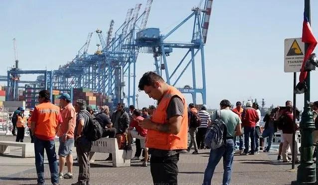 Se suman apoyos a Portuarios de Valparaíso, organizaciones del Biobío y Barcelona (España)