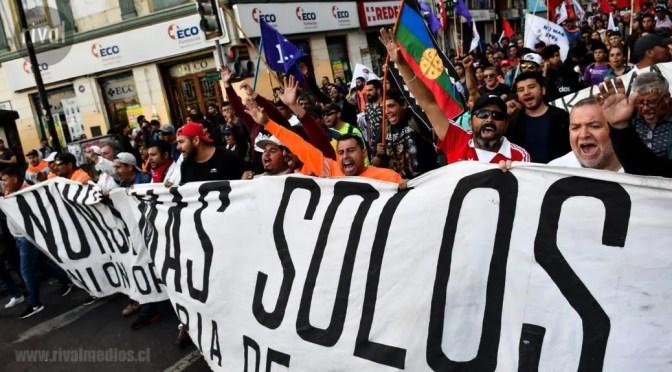 """Vocero Marcos Montecinos y la victoria portuaria: """"ninguna estrategia que utilizaron para dividirnos funcionó"""""""