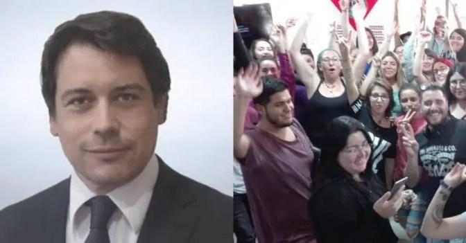 Carabineros irrumpe en empresa del yerno de Piñera y reprime a trabajadores en huelga