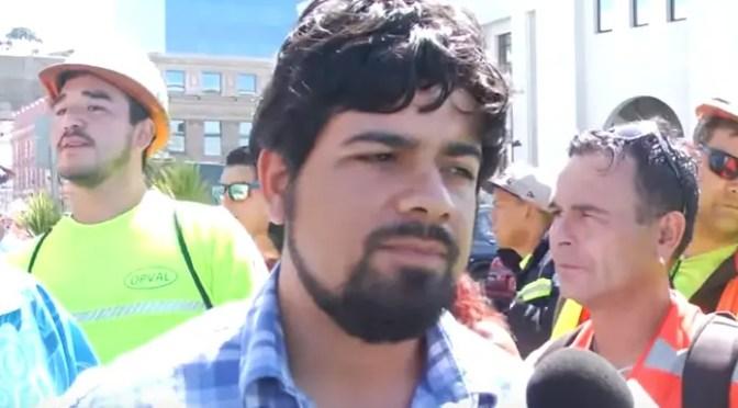 Pablo Klimpel electo Presidente del Sindicato 1 de Valparaíso