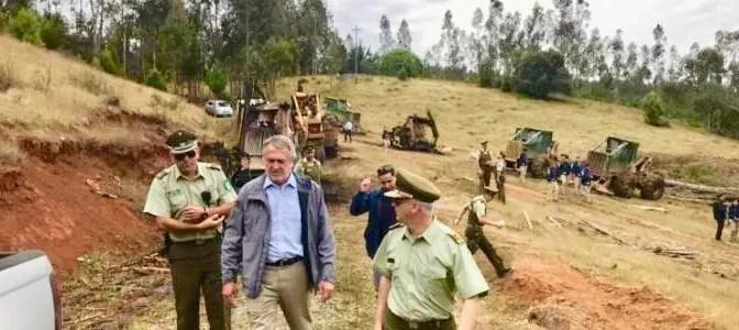 Coordinadora Arauco Malleco se adjudica 4 sabotajes en contra de la Industria Forestal