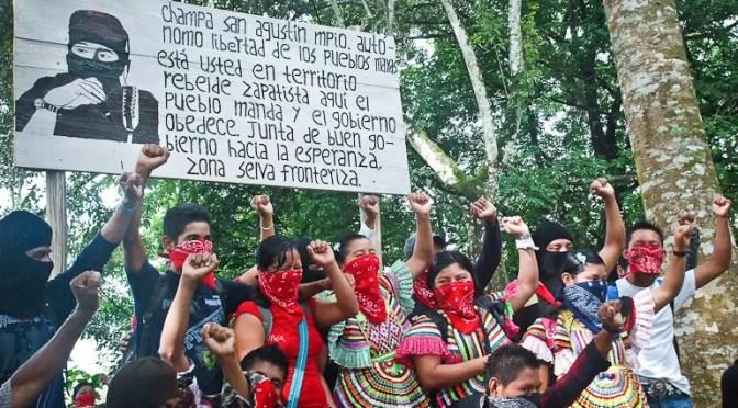 El EZLN enfrenta a López Obrador
