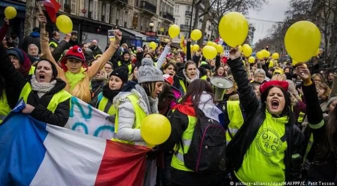Las mujeres en el movimiento de los chalecos amarillos. Rebelión de clase, transgresión de género