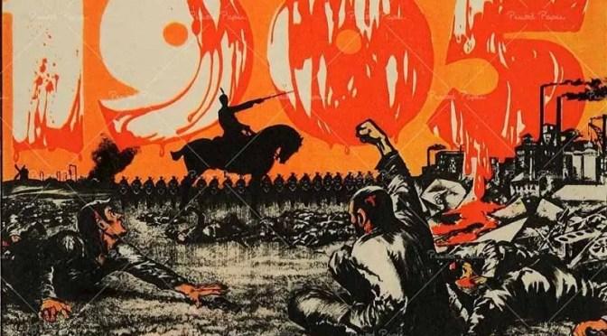 Los revolucionarios de 1905 juzgados por el zarismo: Trotsky desterrado a Siberia