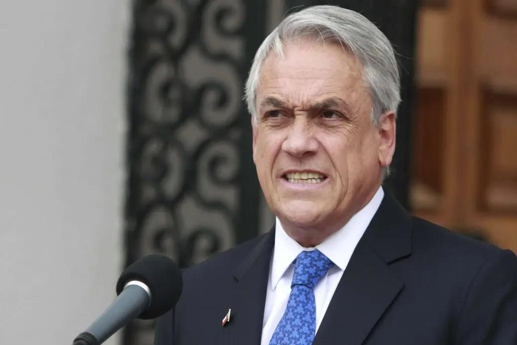 Piñera corre solo y llega segundo