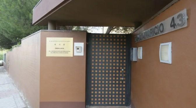 Paramilitares de la CIA asaltaron la embajada de Corea del Norte en España