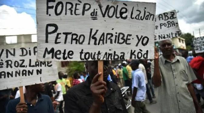 Haití: La agresión imperialista contra la revolución bolivariana desata un movimiento de masas