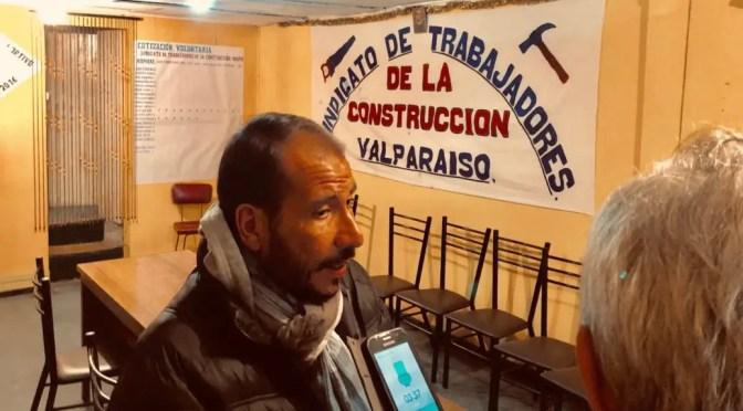 """Entrevista a Gabriel Inda, vocero de los 22 portuarios discriminados por Von appen: """"que nos apoye la CUT"""""""