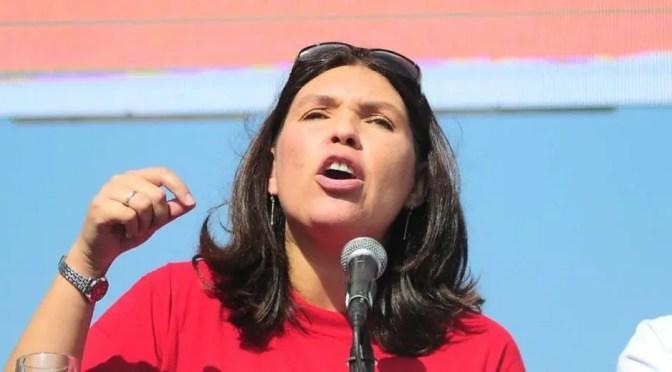 Vergüenza: Bárbara Figueroa nuevamente con empresarios, Piñera y Monckeberg este 1° Mayo