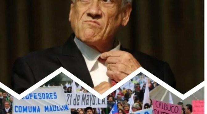 Urgente tarea del momento: unidad y lucha en contra de Piñera y sus secuaces