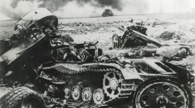 Poema de Mijaíl Borisov: «He visto la batalla»