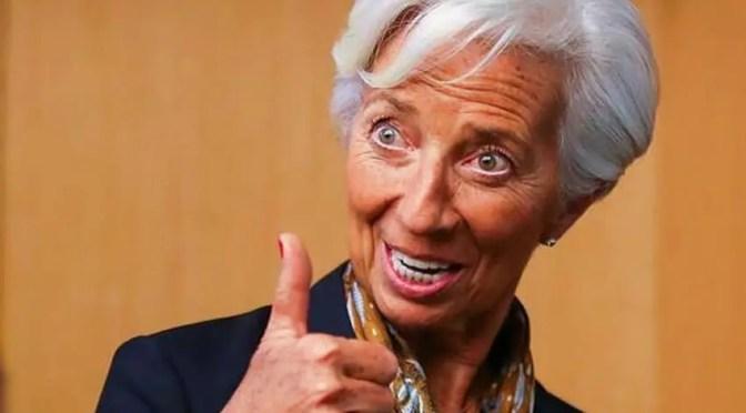 DEl FMI al Banco Central Europeo: Las contradicciones de Christine Lagarde