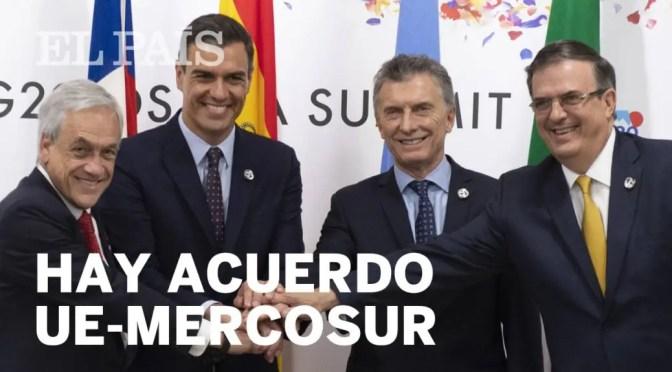 UE-Mercosur: un acuerdo entre dos bloques en crisis