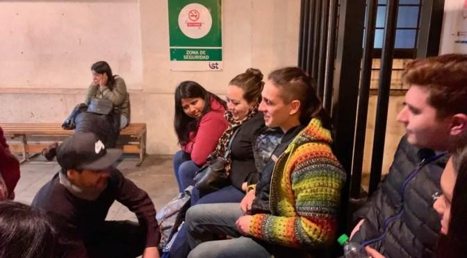 Denunciamos: Carabineros observaron indolentes la agresión a la marcha por Macarena Valdés