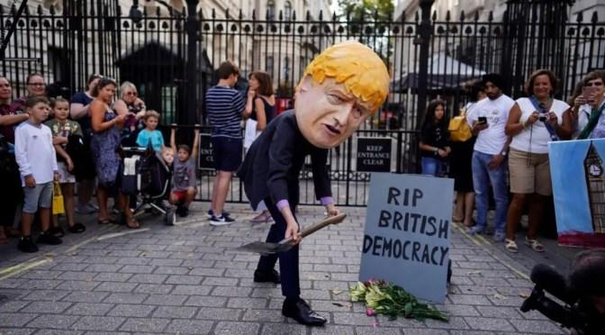 Reino Unido y el cierre del Parlamento: Johnson en guerra contra los derechos democráticos
