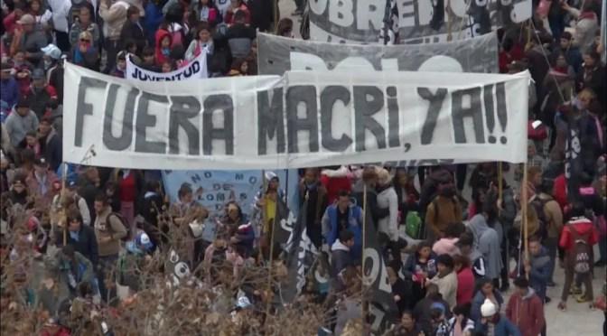 Argentina: sacar a Macri con un Paro General