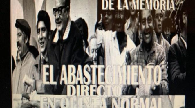 Lanzamiento de documental «El abastecimiento directo en Quinta Normal»