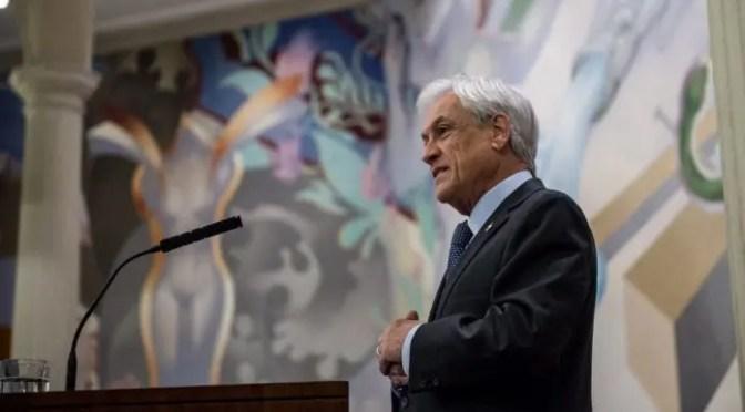Piñera premiado como «Ciudadano Global» por los grupos económicos multinacionales