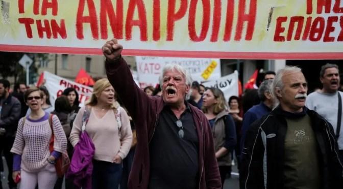 Syriza, la izquierda hipster griega: 4 años de ataque a los trabajadores (1ª parte)