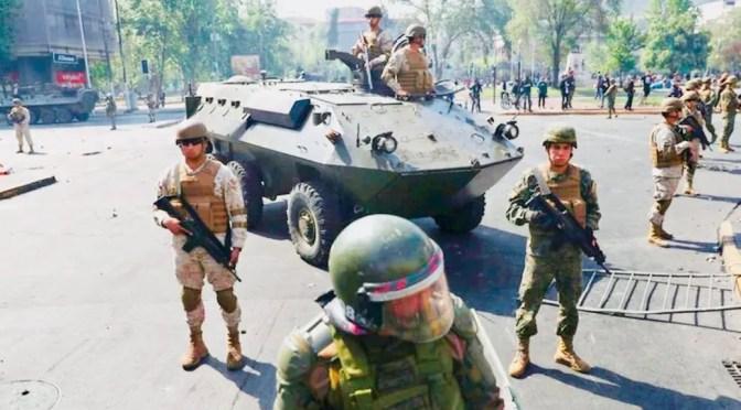 Huelga General Ahora- Fuera Piñera-Abajo el Estado de Emergencia