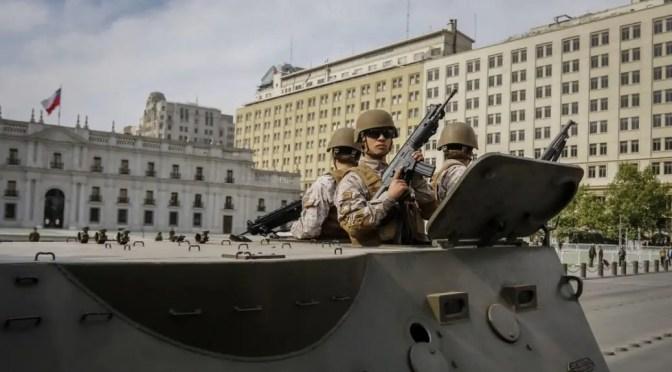 ¿COP25 en medio de militares y violaciones a los Derechos Humanos en Chile?