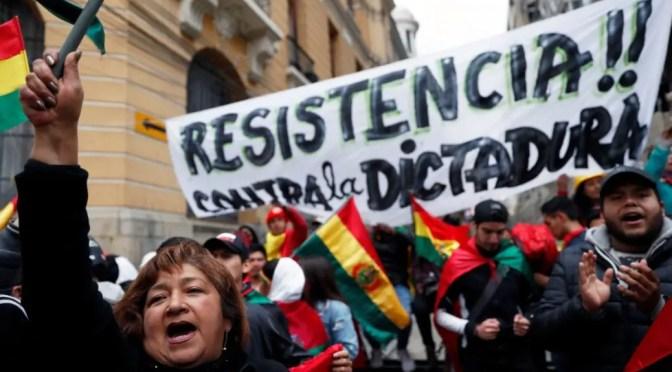 El dramático péndulo de la lucha de clases en Bolivia.