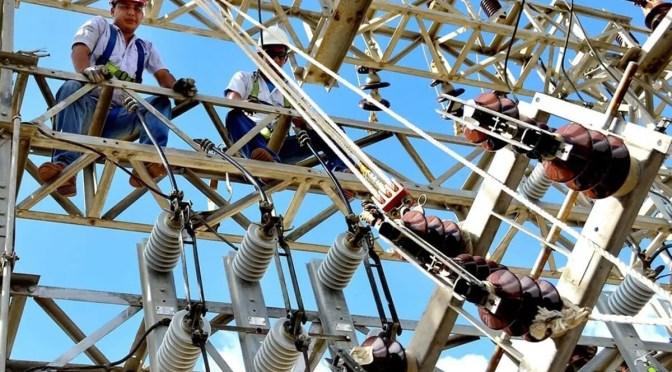 Trabajadores del sector eléctrico unidos contra Piñera