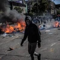 """Entrevista a un capucha: """"en primera línea damos la cara contra la yuta"""""""